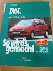 Reparaturhandbuch - Fiat Punto 10 93 -