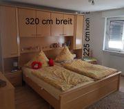 Schlafzimmer und Schrank