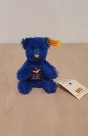 Steiff Teddybär blau Jubiläums-Edition