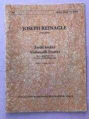 Joseph Reinagle 12 leichte Cello