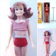 VINTAGE 60er J Barbie SKOOTER