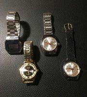 Diverse Armbanduhren