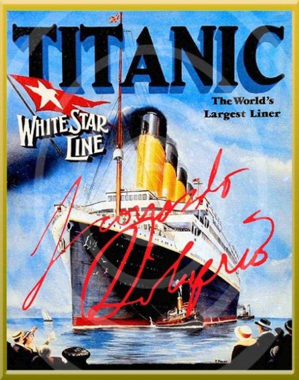 Original Titanic-Poster von LEONARDO DICAPRIO