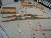 Holz-Autobahn abzugeben