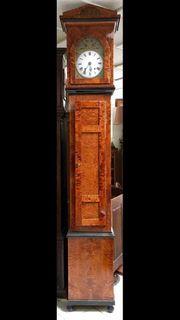 Standuhr Original Biedermeier Antik Uhr