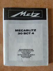 Bedienungsanleitung für Metz Mecablitz 30