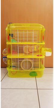 Kleintierkäfig und Transportbox