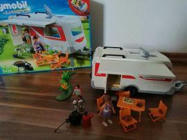 Spielzeug: Lego, Playmobil - Playmobil Wohnmobilanhänger