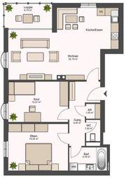 Sehr schöne 3- Zimmer Wohnung