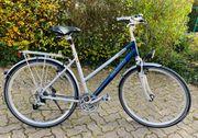 Modernes 28er Damen-Trekkingrad zu verkaufen
