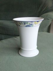 Hutschenreuther Vase weiß Höhe ca