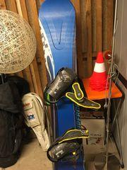 Oxygen Snowboard mit Flexbindung