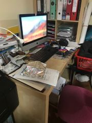 Ikea kallax Schreibtisch
