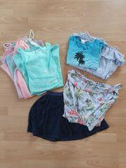 Kleiderpaket Mädchen Sommer Gr 140
