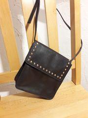 Handtasche Leder braun klein neuwertig
