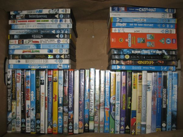 Über 100 DVD Kinderfilme Filme