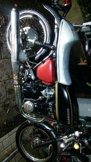 Honda cb 550 four schwarze