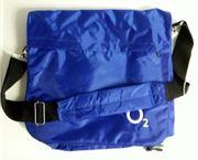 Blaue Umhängetasche Laptoptasche
