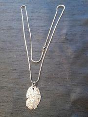 Silberkette mit Indianeranhänger