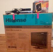 LCD-TV Hisense LCD3233 mit viel