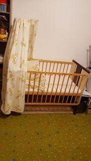 Babybett Kinderbett Giraffe Paula