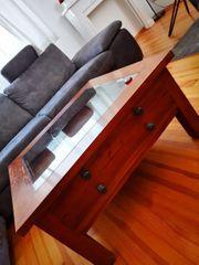 verkaufe Couch Tisch aus Holz