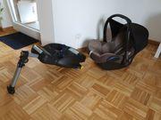 MaxiCosi Cabriofix Babyschale Nomad Black