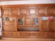 Wohnzimmerschrank Eiche massiv rustikal