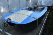 Anglerboot Ausflugsboot Freizeitboot GFK 405x140cm