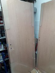 2 Zimmertüren Röhrenspan in Eiche