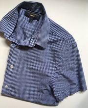 Schickes blau-weiß kariertes Hemd