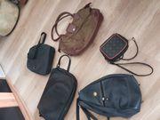 5 verschiedene Taschenmodelle nur zusammen