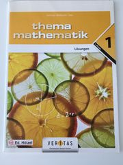 Lösungsheft Thema Mathematik 1