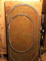 Holzplatte mit Märklin H0 2