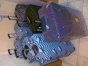 7 hochwertige Trolley-Koffer