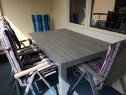 Gartentisch 4 Hochlehner IKEA SJÄLLAND