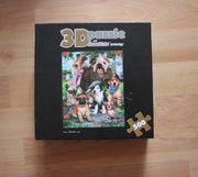 3D Puzzle 500 Teile Hundefamilie