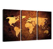 Leinwand Weltkarte 160 x 90