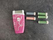 Elektrische Hornhautfeile Hornhautentferner batteriebetrieben für