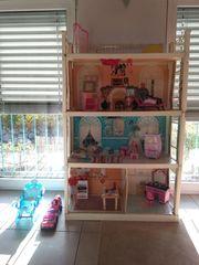 Barbiehaus Puppenhaus Barbie Ken Zubehör