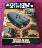 Neu Alkoholtester mit Taschenlampe und