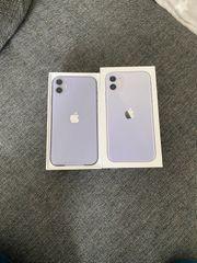 iPhone 11 128gb violett nagelneu