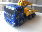 Spielzeugauto - Abschleppwagen - Abschleppdienst Dickie Service -
