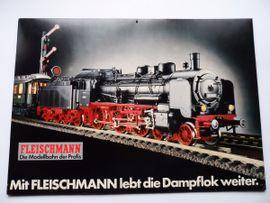 Modelleisenbahnen - Fleischmann Eisenbahn - Auto Rallye - Spur H0