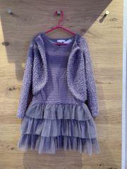 Kleid mit Bolero festlich 128