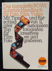Das komplette ROWI Zubehör - Handbuch