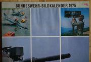 Bundeswehr-Bildkalender 1975 Heer Marine Luftwaffe