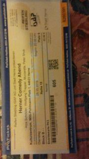 Ticket Herner Comedy Abend Mit