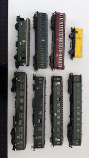 Märklin Eisenbahn über 170 Teile -