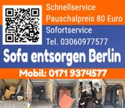 Sofa entsorgen Berlin Treptow 12435